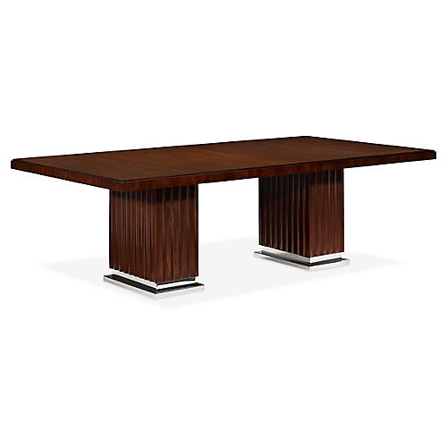 Duke Large Dining Table, Penthouse Rosewood
