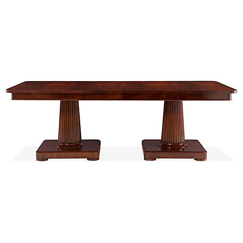 Mayfair Dining Table, Classic Mahogany