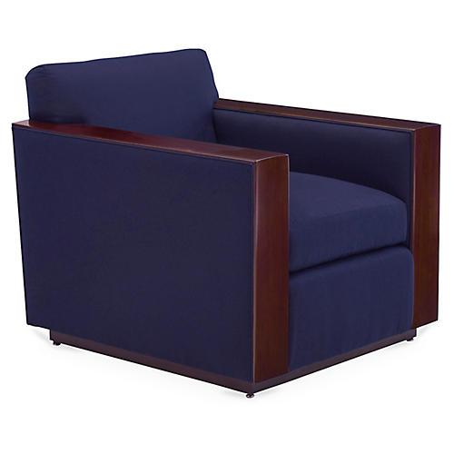 Modern Metropolis Club Chair