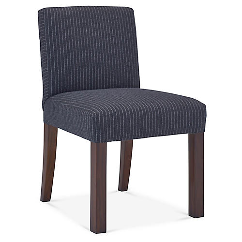 Penthouse Suite Side Chair, Charcoal