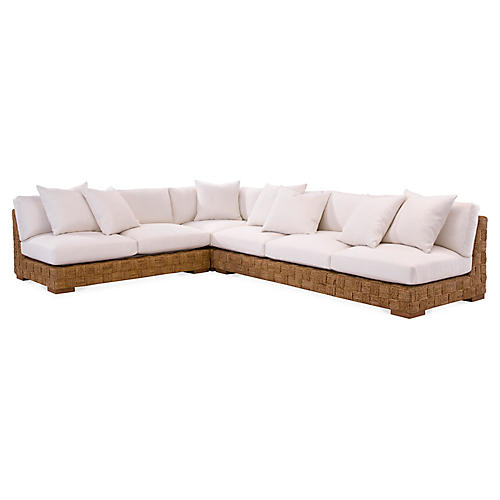 Black Palms Sectional