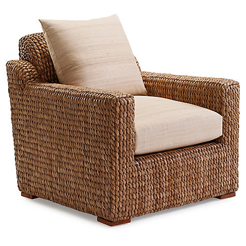 Raymond Club Chair, Light Wheat
