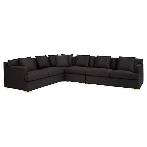 One-Fifth Sectional, Black