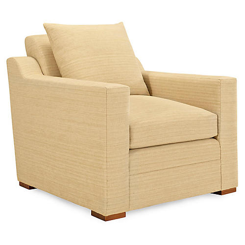 Raymond Club Chair, Wheat
