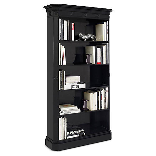 Brook Street Bookcase, Chairman Piano Black
