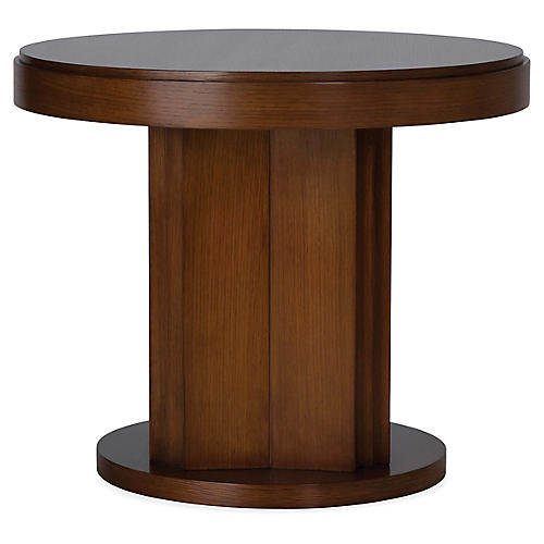 Fletcher Side Table, Rift-Sawn Oak