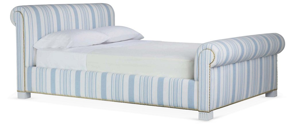 Jamaica Bed - Sleigh Beds - Beds - Bedroom - Furniture   One Kings Lane