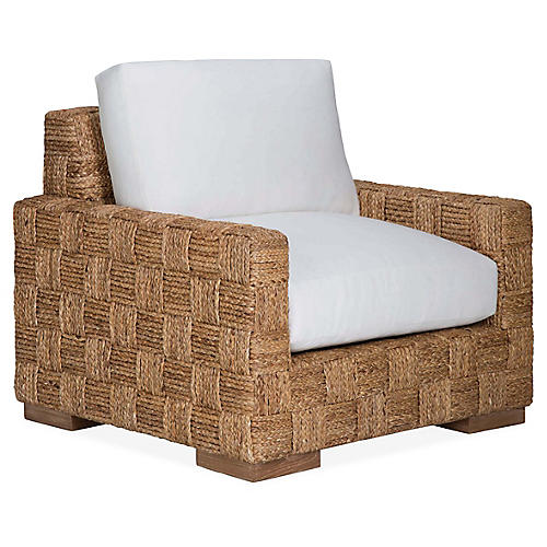 Black Palms Club Chair