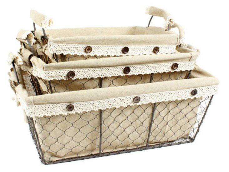 Asst of 3 Toscana Baskets