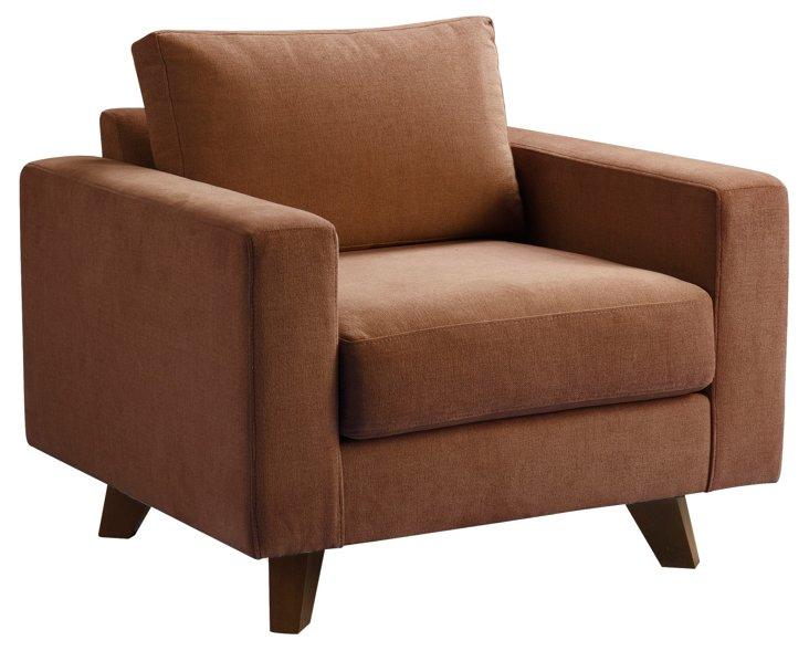 Baxter Chair, Cognac