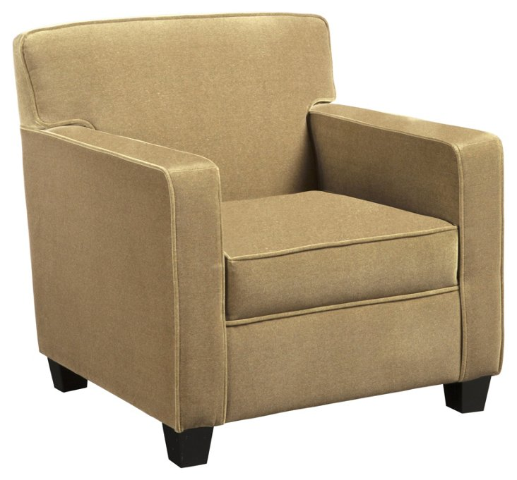 Daly Club Chair, Sand