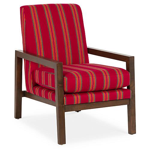 Lafayette Accent Chair, Serape Stripe