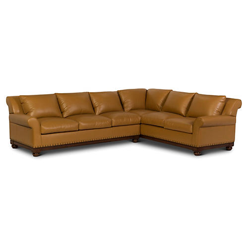 Brookside Sectional, Marigold