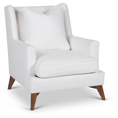 Beverlywood Accent Chair, White