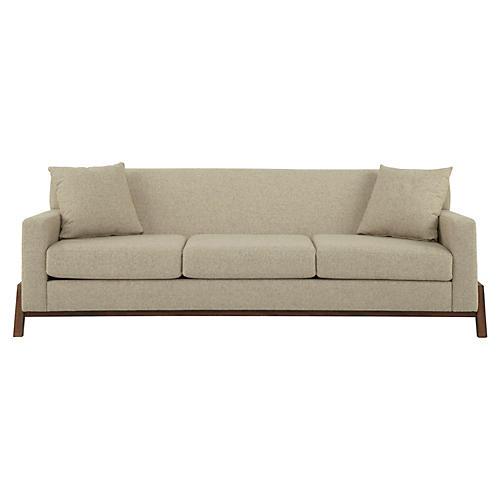 """Hudson 95"""" Sofa, Ecru"""