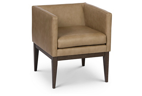 Finch Chair, Sand Leather
