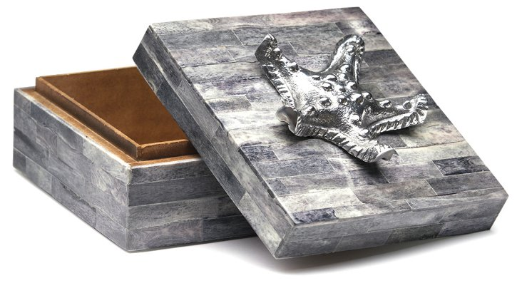 "6"" Horn Box w/ Starfish"