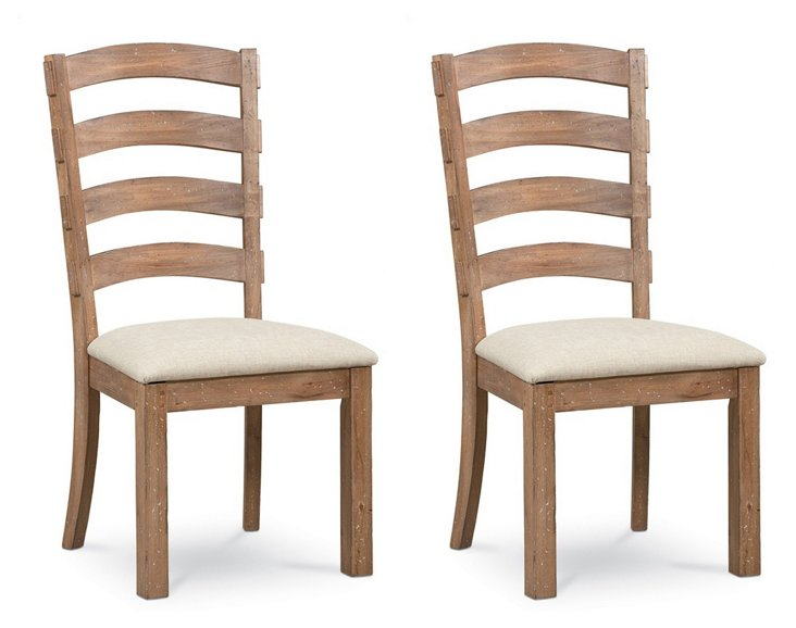 Foxley Side Chairs, Pair