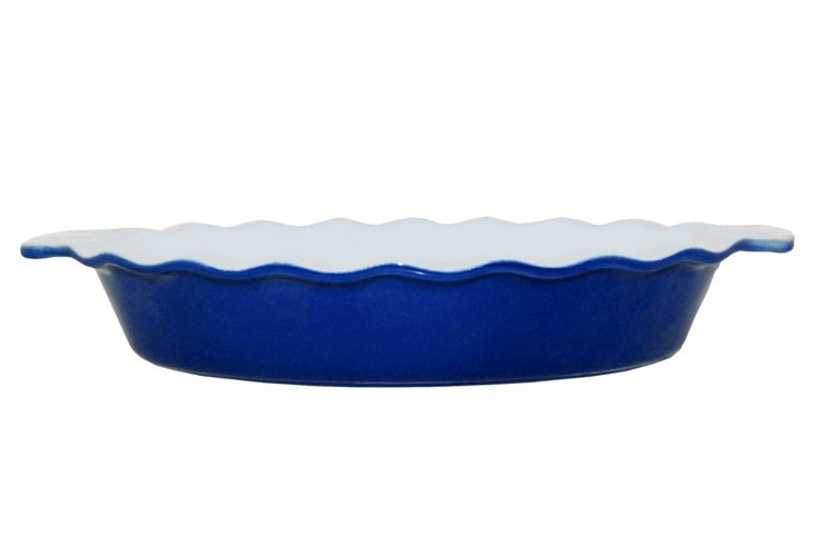 Azure Oval Baker,  Small