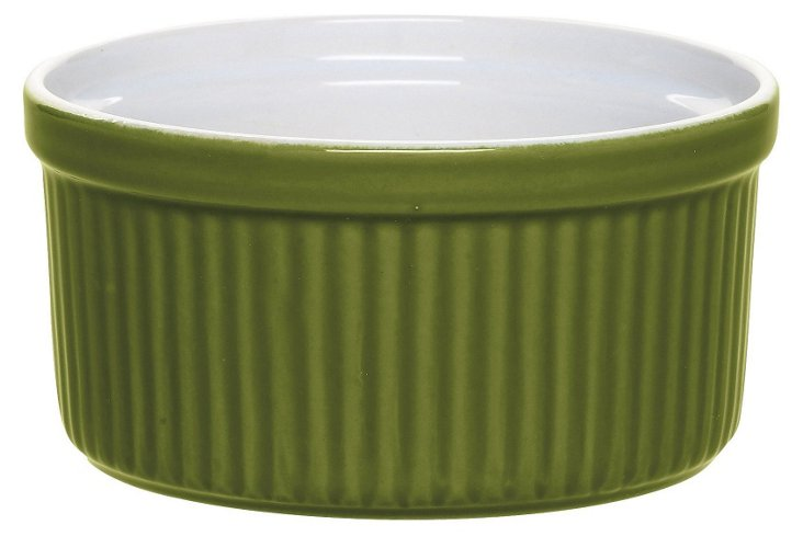 S/2 Olive Stacking Soufflés, 8 Oz