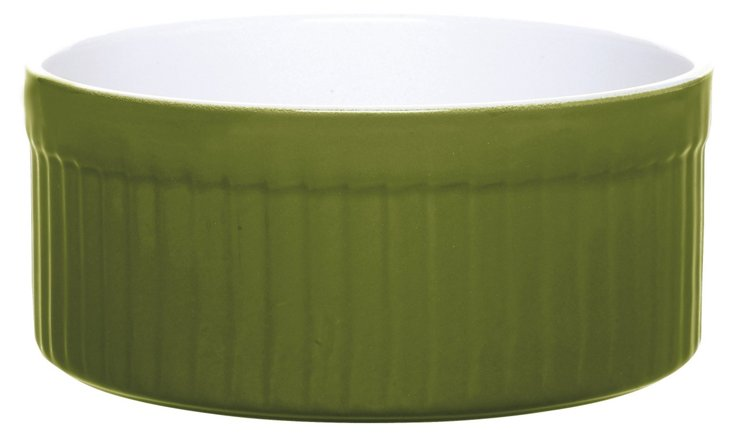 2 Qt Soufflé Dish, Olive