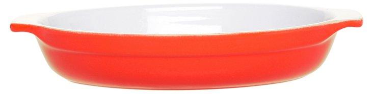 Small Oval Gratin, Apricot