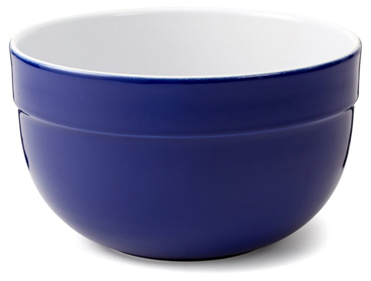 Large Mixing Bowl, Azur