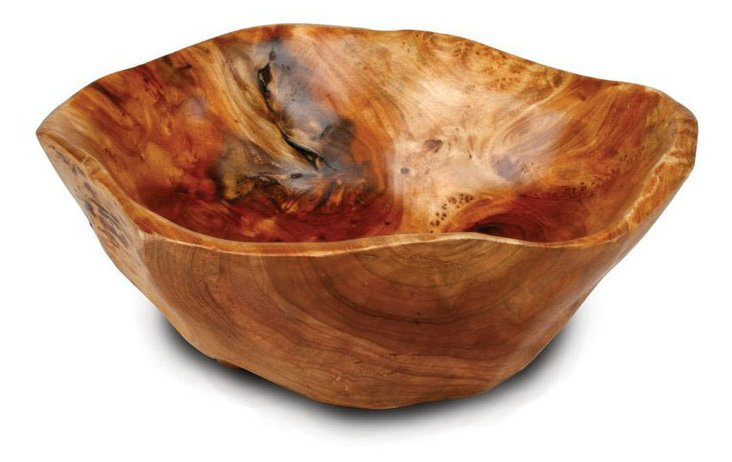 Hand-Carved Bowl, Small