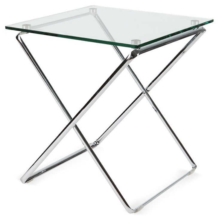 DNU, Akron Glass Side Table