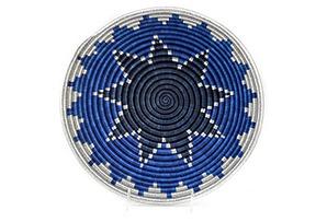Large Hope Basket, Blue/Silver