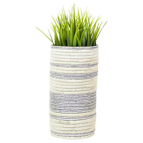 Medium Vase, Silver
