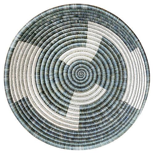 """12"""" Inka Large Basket, Mirage Gray"""