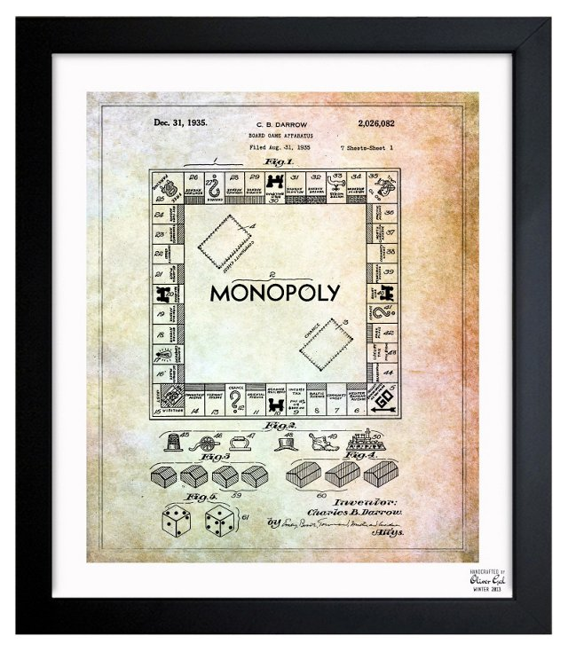 Oliver Gal, Monopoly, 1935