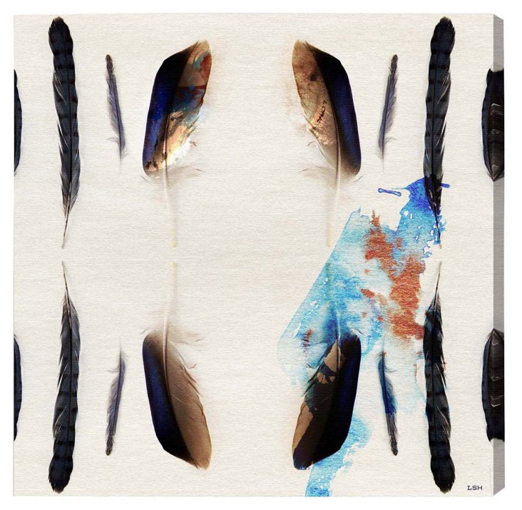 Oliver Gal, Plumage Canvas