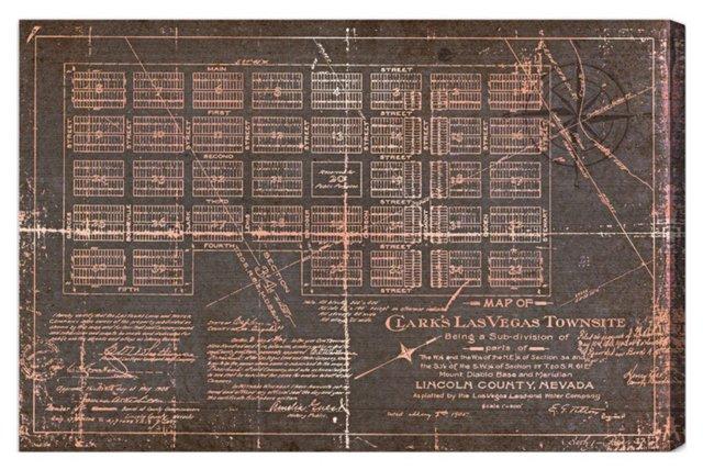 Oliver Gal, Las Vegas Map