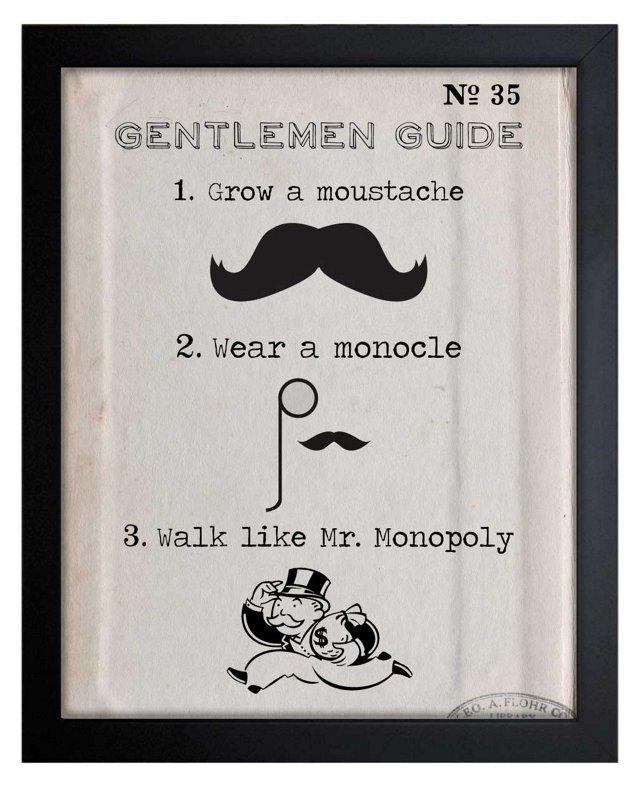Oliver Gal, Gentlemen Guide
