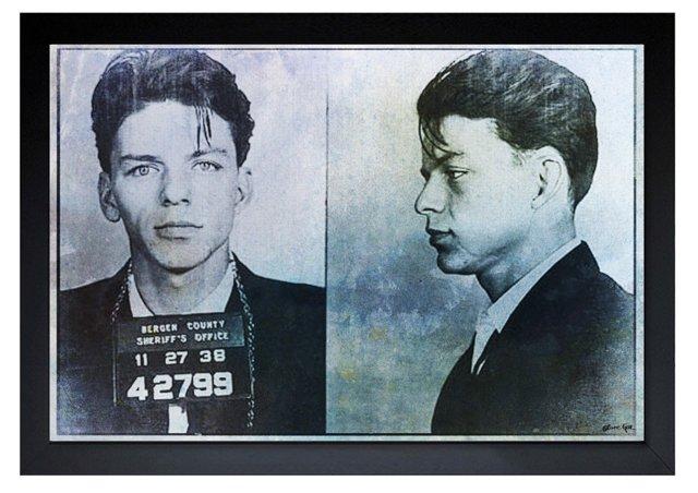 Oliver Gal, Frank Sinatra Mugshot