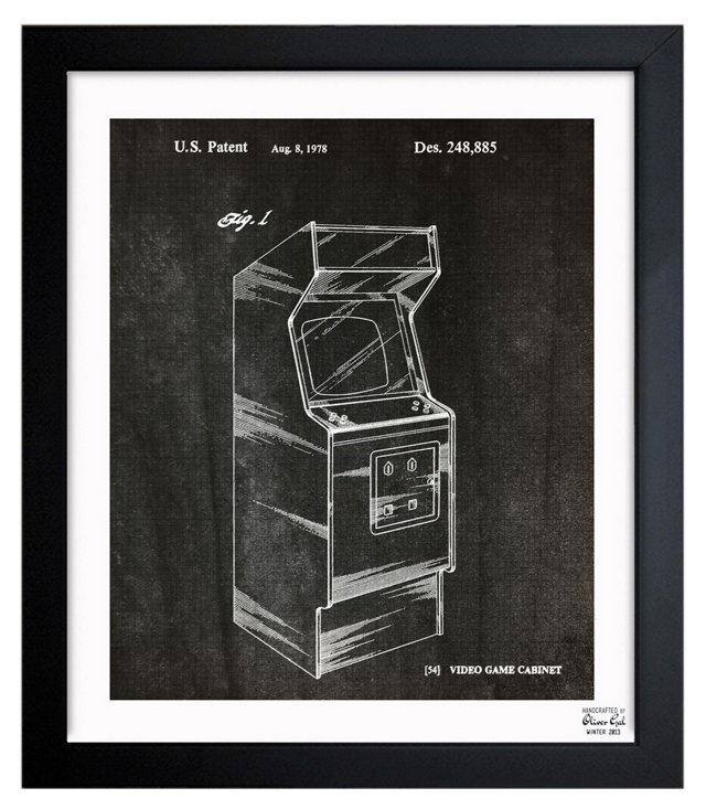 Oliver Gal, Game Cabinet 1978