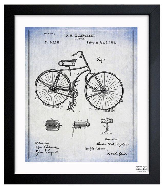 Oliver Gal, Bicycle 1891