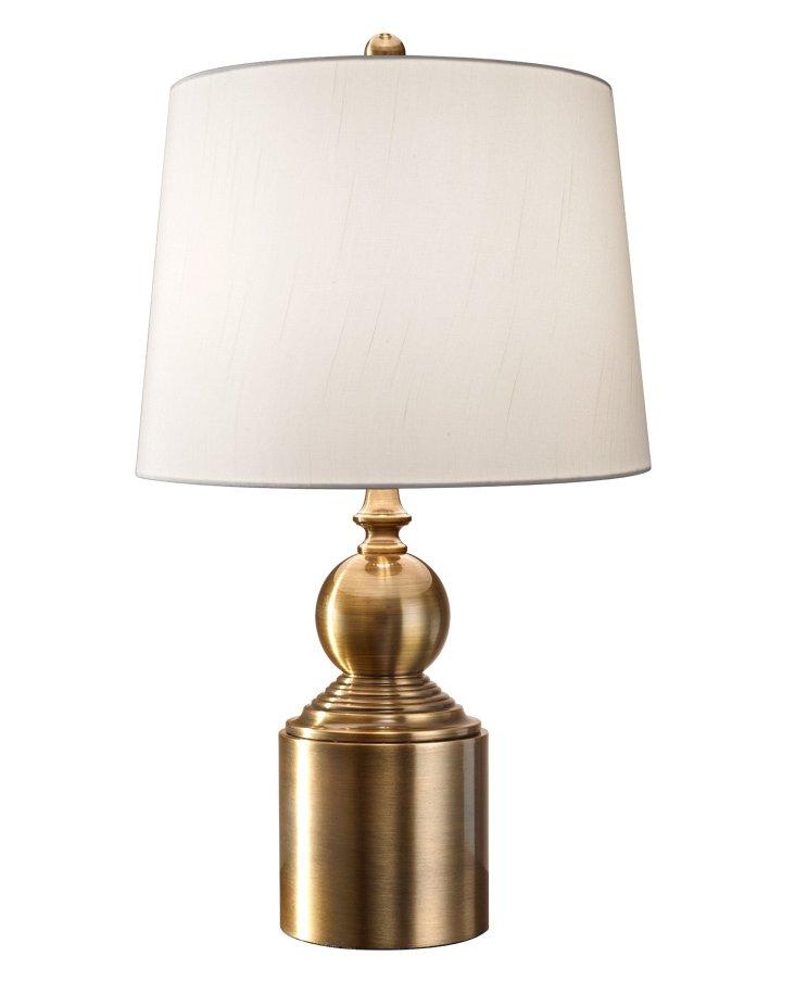 Douglas Table Lamp, Brass