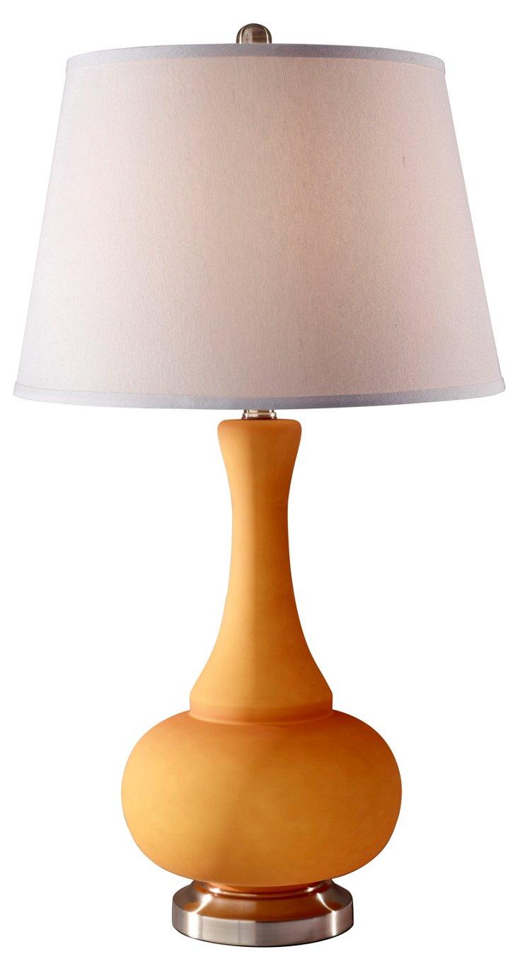 Kennedy Table Lamp, Melon