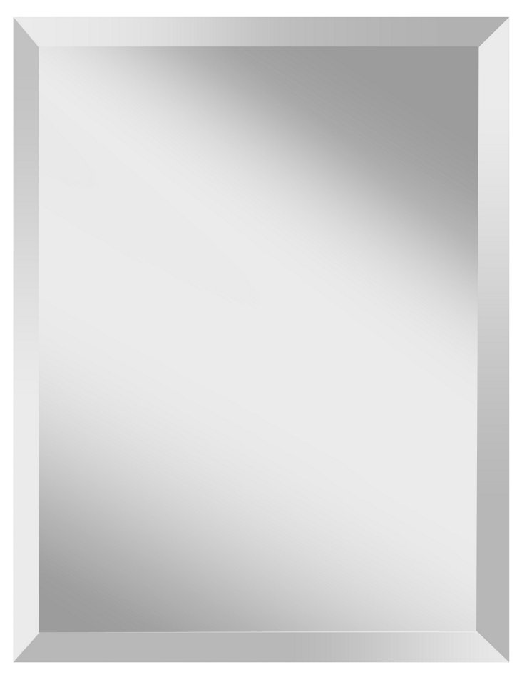Harvey Wall Mirror, Clear