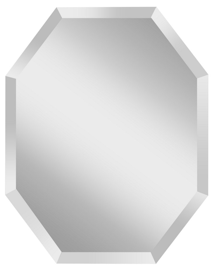 Aiden Wall Mirror, Clear