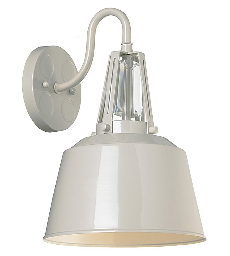 Redmond 1-Light Sconce, Gray