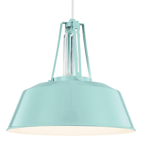 Redmond 1-Light Pendant, Blue