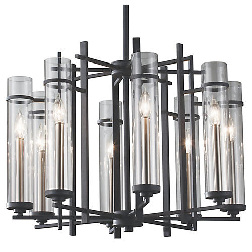 Ethan 8-Light Chandelier, Iron
