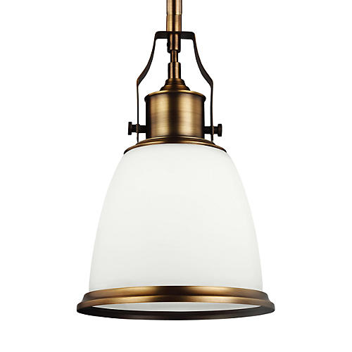Hobson Mini-Pendant, White