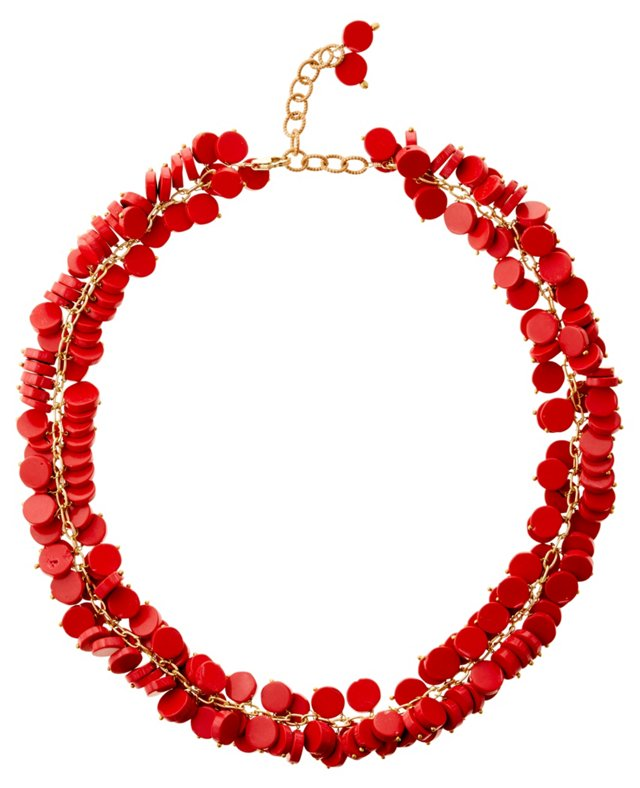 Red Coral Celebration Necklace