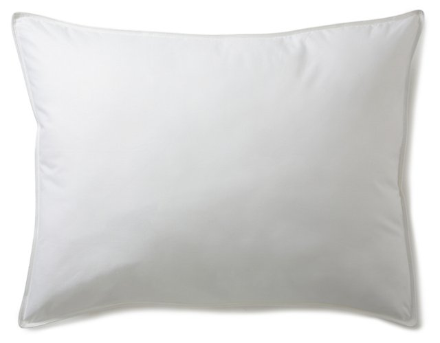 S/2 Alt. Gusseted Pillows, Firm