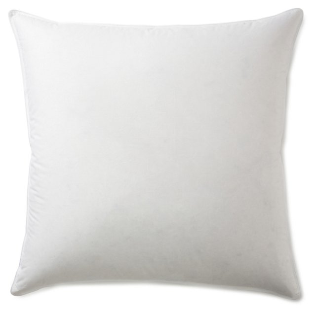 Luxury Fill Euro Pillow & Protector, Med